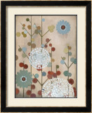 Mod Blossom Poster by Sally Bennett Baxley