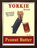 Yorkie Peanut Butter Limited Edition Framed Print by Ken Bailey