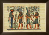 Egyptian Papyrus, Design IV Poster
