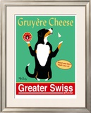 Greater Swiss Limited Edition Framed Print by Ken Bailey