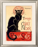Tournee du Chat Noir Framed Giclee Print by Théophile Alexandre Steinlen