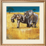 On the Plains IV Prints by Selina Werbelow