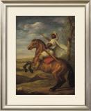 Moorish Chieftain on Horseback Prints by Tim Ashkar