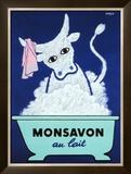 Monsavon au Lait Framed Giclee Print by Raymond Savignac