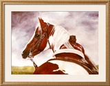 A Look Back Framed Giclee Print by Stacy Maeda