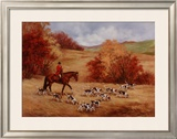 First Casting Framed Giclee Print by Susan Sponenberg