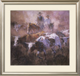 Rising Sun n' Dust Prints by Suzanne Baker