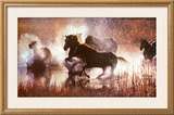 The LX Saddle Horses Prints by David R. Stoecklein