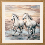 Running Horses I Print by Ralph Steele