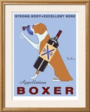 Appellation Boxer Limited Edition Framed Print by Ken Bailey