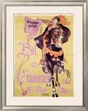 Bal des Etudiants Framed Giclee Print by Charles Loupot