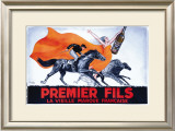 Premier Fils Framed Giclee Print by Roby 