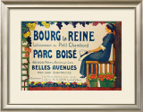 Bourg la Reine Framed Giclee Print by R. Garmaison