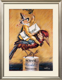 Chocolat Schaal Framed Giclee Print by Abel Faivre