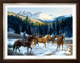 Where the Sun Shines on the Mountain Top Limited Edition Framed Print by Tim Cox