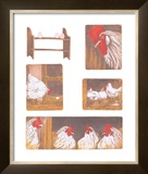 The Chicken Story Prints by Van Der Sweep Ans