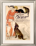 Clinique Cheron, c.1905 Framed Giclee Print by Théophile Alexandre Steinlen