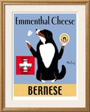 Bernese Ementhal Cheese Limited Edition Framed Print by Ken Bailey