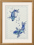 Playful Koi II Art by Rebecca Bruce Bryant