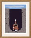 One Beagle - 1 Afternoon Limited Edition Framed Print by Ken Bailey