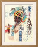 African Costumes Prints by Marc Lacaze