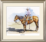 Long Shadows Framed Giclee Print by Lacoste Gena