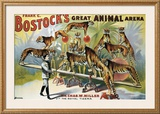 Bostock's Great Animal Arena Framed Giclee Print