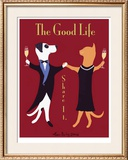 The Good Life Limited Edition Framed Print by Ken Bailey