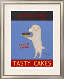 Schnoodle Tasty Cakes Limited Edition Framed Print by Ken Bailey