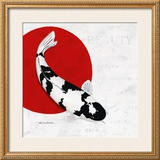 Splashing Beauty Shiro Utsuri Prints by Nicole Gruhn