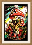 Mushroom Caterpillar Posters