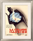 La Grande Illusion Framed Giclee Print by Bernard Lancy