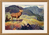 Scotland for Holidays Framed Giclee Print by W. Smithson Broadhead