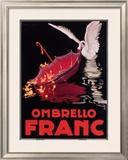 Ombrello Franc Framed Giclee Print