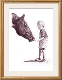 Matthew and Billy Framed Giclee Print by Lorrie Beck