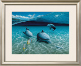 The Chase, Maui Dolphins Prints by Mark Mackay