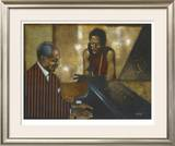 Mr. Piano Man Limited Edition Framed Print