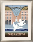 Milano Orient Express Framed Giclee Print by Pierre Fix-Masseau