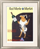 Red Merle Merlot Limited Edition Framed Print by Ken Bailey