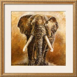 Elephant Print by Olga Ilic