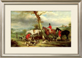 Thomas Wilkinson with the Hurworth Prints by John E. Ferneley