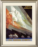 Lloyd Sabaudo Framed Giclee Print by Giuseppe Riccobaldi