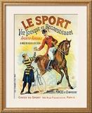 Le Sport Framed Giclee Print