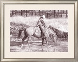The Smith Fork Framed Giclee Print by Lorrie Beck