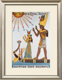 Egyptian State Railways Framed Giclee Print by Kalfa