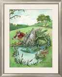 The Real Hazard Framed Giclee Print by Gary Patterson