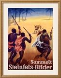 Sammelt Steinfels-Bilder Framed Giclee Print by Otto Baumberger