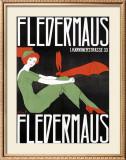 Fledermaus Framed Giclee Print by Fritz Langer