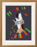 Pit Bull Jaw Breakers Limited Edition Framed Print by Ken Bailey