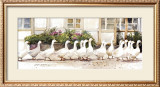 Dinner Call Print by Dawna Barton